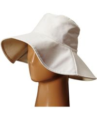 Hat Attack - Canvas Reversible Sunhat - Lyst