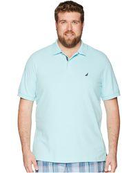 4c3a7a4f134 Nautica - Big Tall Short Sleeve Solid Deck Shirt (dreamy Coral) Men s  Clothing -