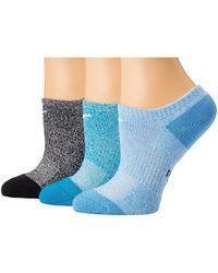 23ffeccbfce362 Nike Performance Cushioned Mesh Quarter Training Socks 3-pair Pack  (multicolor 2) Women's Quarter Length Socks Shoes in Blue - Lyst