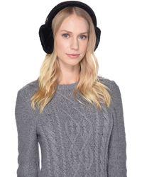 3f6a85b6c7124 UGG - Classic Water Resistant Sheepskin Non-tech Earmuff (black) Cold  Weather Hats