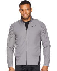 Nike - Dry Jacket Team Woven (black anthracite metallic Hematite) Men s Coat e11635170