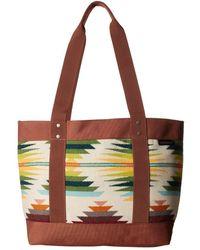 Pendleton - Small Snap Tote (falcon Cove) Tote Handbags - Lyst