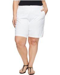 NYDJ - Plus Size Bermuda Shorts (optic White) Women's Shorts - Lyst