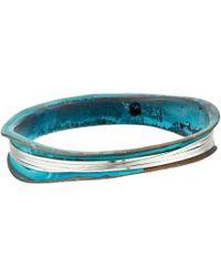 Robert Lee Morris - Wire Wrapped Patina Bangle Bracelet (patina) Bracelet - Lyst