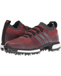 premium selection 5ba3a 7a9a2 adidas Originals - Tour360 Knit (redblackgrey) Mens Golf Shoes -