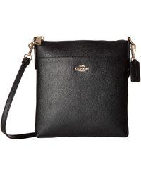 9b2e6627aa7d COACH - Crossgrain Messenger Crossbody (chalk gold) Cross Body Handbags -  Lyst