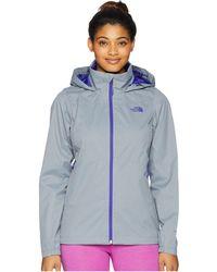 The North Face - Resolve Plus Jacket (mid Grey/tnf Black (prior Season)) Women's Coat - Lyst