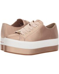 MICHAEL Michael Kors - Ronnie Sneaker (bisque Satin) Women's Shoes - Lyst