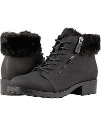 Trotters - Below Zero Waterproof (chestnut/natural Nubuck Pu Waterproof/faux Fur) Women's Boots - Lyst