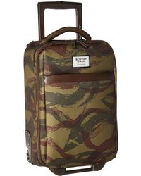 Burton - Wheelie Flyer Travel Luggage (brushstroke Camo) Luggage - Lyst