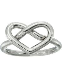 Calvin Klein - Charming Ring (silver) Ring - Lyst