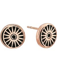 ALEX AND ANI - Cosmic Balance Post Earrings - Precious Metal (14kt Rose Gold Plated) Earring - Lyst