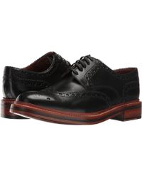 Grenson - Archie (tan) Men's Lace Up Wing Tip Shoes - Lyst