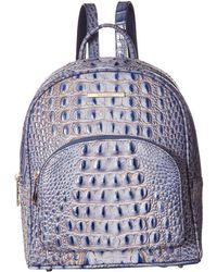 Brahmin - Melbourne Mini Dartmouth Backpack (pecan) Handbags - Lyst