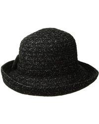 659eb6bc439 Lyst - San Diego Hat Company Cth8160 Kettle Brim W  Bow (red) Caps ...