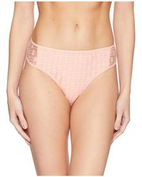 Kenneth Cole - Lacy Days Contrast Side Hipster Bottom (light Coral) Women's Swimwear - Lyst