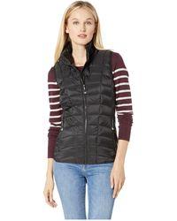 Roper - 1411 Dull Black Down Vest (black) Women's Vest - Lyst