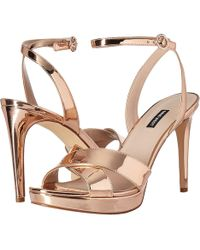 Nine West - Quisha (light Natural Synthetic) High Heels - Lyst