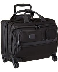 Tumi - Apha 2 - 4 Wheeled Deluxe Brief With Laptop Case (black) Luggage - Lyst