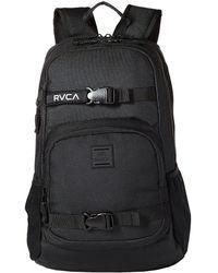 RVCA - Estate Delux Backpack (black) Backpack Bags - Lyst