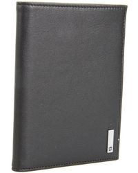 Victorinox - Altiustm 3.0 - Oslo Leather Passport Cover (black Leather) Wallet - Lyst