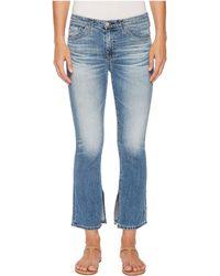 AG Jeans - Jodi Crop In 16 Years Indigo Deluge - Lyst