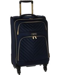 Kenneth Cole Reaction - Chelsea - 20 Quilted Expandable 4-wheel Upright Carry On (navy) Luggage - Lyst