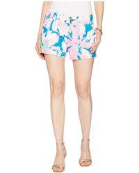 Lilly Pulitzer - Callahan Shorts (tidal Wave Pans Garden) Women's Shorts - Lyst