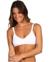 On Gossamer - Cabana Cotton Bralette 010404 (white) Women's Bra - Lyst