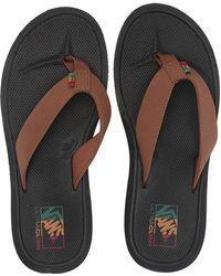 88147a965e1 Vans - Nexpa Synthetic (dachshund black rasta) Men s Sandals - Lyst