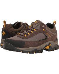 Columbia - Granite Ridge (dark Grey/red Element) Men's Shoes - Lyst