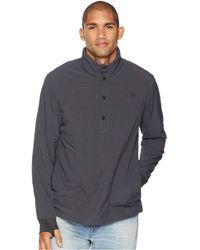 The North Face - Mountain Sweatshirt 1/4 Snap Neck (asphalt Grey) Men's Sweatshirt - Lyst