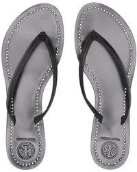574c7970cec5 Tory Burch - Liana Thong Sandal (silver) Women s Sandals - Lyst