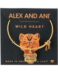 ALEX AND ANI | Path Of Symbols - Wild Heart Ii Bangle | Lyst