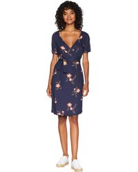 Roxy - Monument View Dress (dress Blues Spaced Out Floral) Women's Dress - Lyst