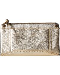 The Sak - Tahoe Soft Wallet By Collective (new Gold Souk Emboss) Wallet Handbags - Lyst
