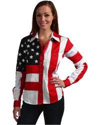 Scully | Flag Shirt | Lyst