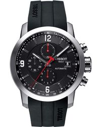 Tissot - Prc 200 Automatic Chronograph - T0554271705700 (mother-of-pearl/black) Watches - Lyst