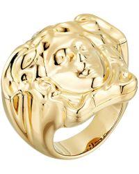 Versace - Medusa Ring (gold) Ring - Lyst