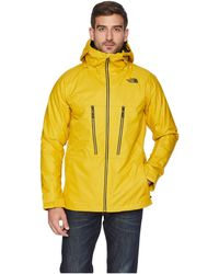 The North Face - Thermoballtm Snow Triclimate(r) Jacket (leopard Yellow)  Men s d15867125