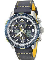 Citizen - Jy8078-01l Promaster Skyhawk A-t (blue) Watches - Lyst