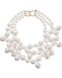 Kenneth Jay Lane - 5079nwp Necklace - Lyst