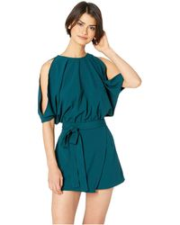 Bishop + Young - Off Duty Romper (jade) Women's Jumpsuit & Rompers One Piece - Lyst