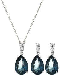 Swarovski - Vintage Set (teal) Jewelry Sets - Lyst