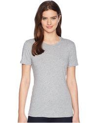 Adam Lippes - Short Sleeve Crew Neck Core Tee (black) Women's T Shirt - Lyst