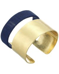 Lucky Brand - Wrapped Cuff Bracelet - Lyst