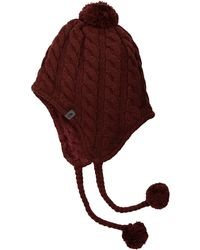 The North Face - Fuzzy Earflap Beanie - Lyst