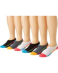 Converse - Cut-for-chucks 6-pair Pack (multi) Women's No Show Socks Shoes - Lyst