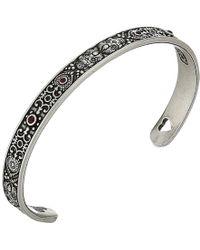 ALEX AND ANI - Calavera Cuff Bracelet (rafaelian Gold) Bracelet - Lyst