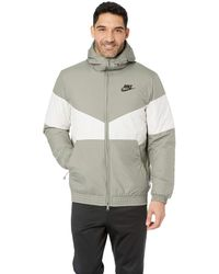 9d57d2e0cb01 Nike - Nsw Synthetic Fill Jacket Hoodie (dark Stucco light Bone dark Stucco